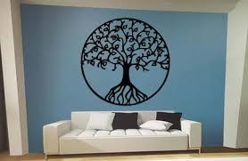 Tree Of Life Home Decor | banian tree with birds wall decals walldecalmallcom tree wall