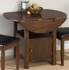 Kitchen Table For Small Spaces Dining Room Awesome Rectangular Small Drop Leaf Table Tables