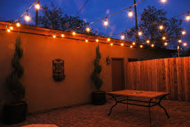 patio permanent led lights contemporary