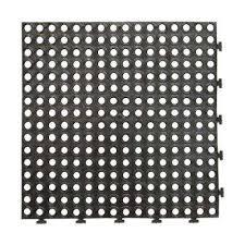 Interlocking Rubber Floor Tiles Interlocking Tile Garage Flooring The Home Depot