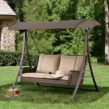 Resin Wicker Patio Furniture - ty pennington style parkside resin wicker swing limited