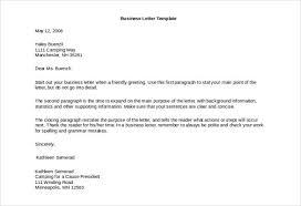 business letters pdf standard business letter format sample
