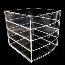 Kitchen Cabinet Drawer Boxes Immi Living Cosmetic Organizer Acrylic Makeup Case Drawers Box