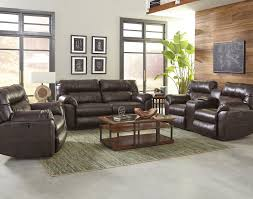 Power Recliner Loveseat With Console Freeman Power Reclining Sofa And Loveseat With Console