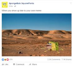 Meme Your Own Photo - when you show up late to your own meme spongegar primitive