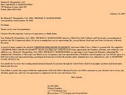 letter to collection agency or attorney in response to a letter