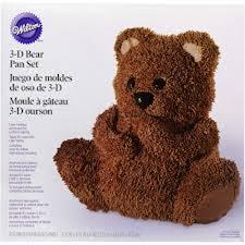 moule cuisine moule à gâteau ourson 3d de wilton 2105 603 fournitures de