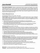 financial resume gallery of professional cv in finance financial resume exles