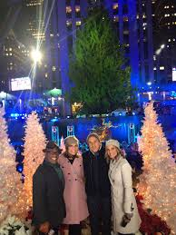 the today show anchors on why rockefeller centermas
