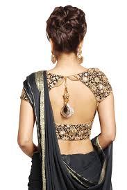 blouse pic except the big latkan s pendant gorgeous saree choli blouse