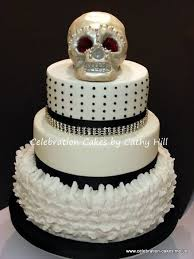 skull wedding cakes 25 wedding cakes with skulls