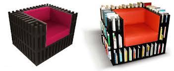 Bookshelf Chair Chair That Holds Books Core77