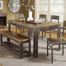 farmhouse kitchen furniture farmhouse table with bench and chairs foter