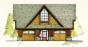 Carriage House Building Plans Oak Carriage House Home Plan By Mosscreek Designs