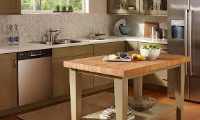 modern butcher block dining room table soapstone del or butcher