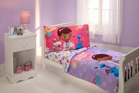 disney toddler doc mcstuffins 4 piece toddler bedding set toys