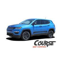 jeep body jeep compass course lower rocker door body line accent vinyl