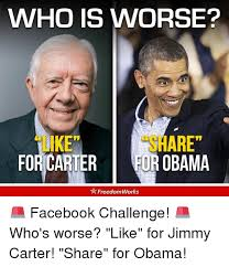 Carter Meme - who is worse are for carter eur obama freedomworks facebook