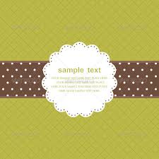 template frame design for greeting card by littlemango graphicriver