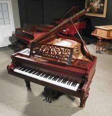 si e piano chickering grand piano antique piano shop