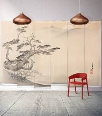 geishas garden wall mural from the erstwhile collection by milton japanese hillside wall mural from the erstwhile collection by milton king