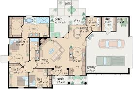 3 bedroom ranch house floor plans ranch style house plans plan 18 240