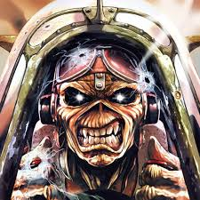 eddie iron maiden legacy of the beast rock and guitar