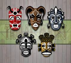 tribal masks viscious speed on deviantart within african tribal