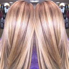 lowlights in bleach blonde hair balayage and painted in lowlights hair colors ideas