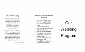 Wedding Program Outline Template Reception Program Template Wedding Reception Program Templates
