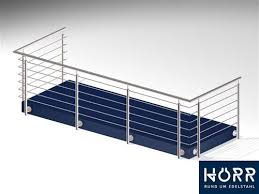 balkon gitter edelstahl balkongeländer balkon bausatz geländer stütze ebay