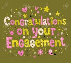 congratulations on your engagement card congratulations on your engagement card royalty free cliparts