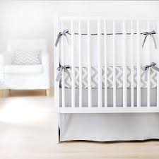 amazon com new arrivals sweet and simple crib bedding set gray