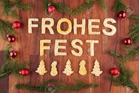the german words frohes which means merry with