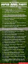 the ultimate super bowl party checklist mandatory
