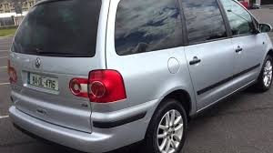 volkswagen tdi 2004 2004 vw sharan 1 9tdi youtube