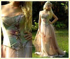 faerie wedding dresses katakovacss beautiful colored wedding gown consist of