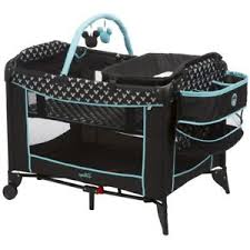 Playard With Changing Table Portable Baby Bassinet Playard Playpen Changing Table Bar