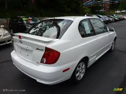 hyundai accent gt 2003 noble white 2003 hyundai accent gt coupe exterior photo 50874541