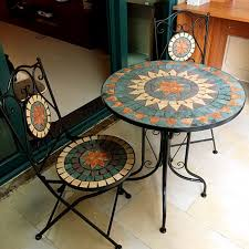 Mosaic Patio Tables Mosaic Patio Table House Photos Make Own Mosaic Patio Table