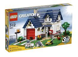 lego creator apple tree house 5891 539 set