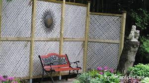 Privacy Screen Ideas For Backyard Garden Fence U0026 Screen Privacy Ideas Empress Of Dirt