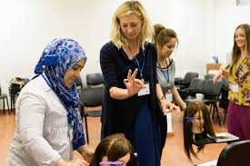 local women travel to syrian refugee camps in lebanon kirkland