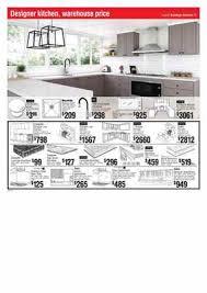 kitchens bunnings design kitchen sale catalogue 3 mar 2016