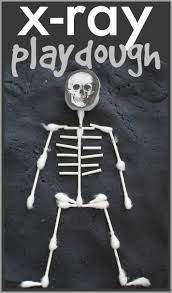 Halloween Art And Crafts For Kids X Ray Playdough I Can Teach My Child