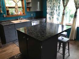 the look of granite counter tops achieved using paint epic painting