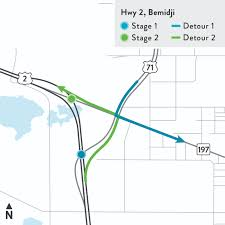 Mn Road Map Hwy 2 And Hwy 197 Resurfacing Project Mndot
