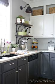 radio for kitchen cabinet pine wood light grey amesbury door two toned kitchen cabinets