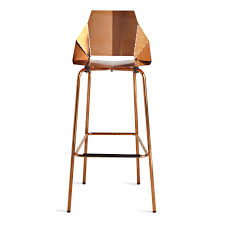 Copper Real Good Barstool Modern Barstools U0026 Seating Blu Dot
