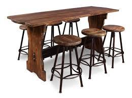 august grove conrad 7 piece counter height pub table set wayfair